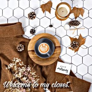 Welcome to my closet ☕️✨